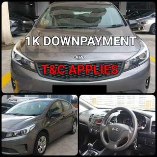Kia Forte. $1,000 Downpayment ONLY!! Limited Units! Used Car.