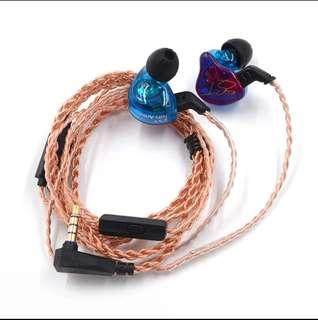 🚚 KZ ZST pro comes with new braided cable