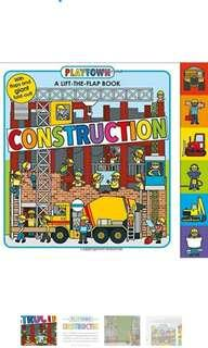 Playtown Construction : A Lift-The-Flap book