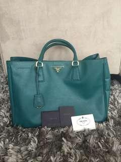 REPRICED! PRADA Saffiano Lux Top Handle