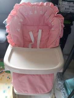 Aprica High Chair+送替换/保護套