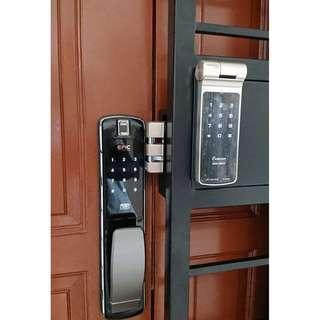 Epic Push Pull + Gateman Z10 FOC Letter box digital lock