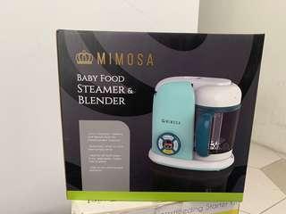Mimosa baby food steamer & blender