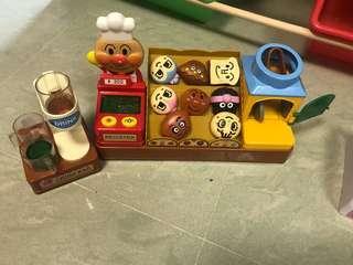 麵包超人麵包玩具
