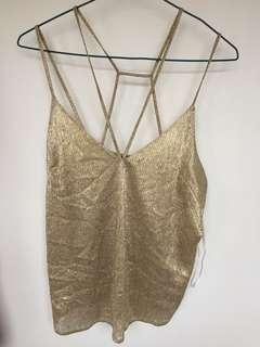 Sparky gold top