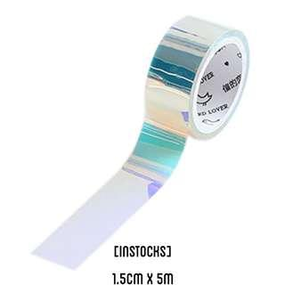 🚚 Holographic Washi Tape