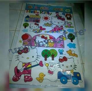[SALE] WALLSTICKER HELLO KITTY