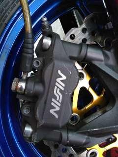Nissin monoblock brake calipers