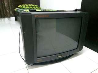 TV gemuk brand sharp
