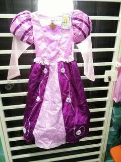 🆕 Authentic Rapunzel Dress from Disneyland