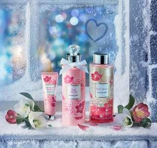🌟LIMITED!! Relax Holiday Collection🌟 AUTHENTIC BRAND NEW 250ml Body Milk Oil/ 30ml Moist Silky Veil Handcream/ 300ml Bath Essence S (Fresh Imported Monthly)💋No Pet No Smoker Clean Hse💋