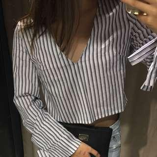 Pinstripes Top