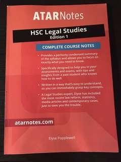 Atar Note Legal Studies Textbook