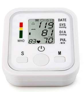 Blood Pressure Monitor LED health monitor monitoring system