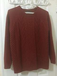 Suzy Shier Chunky Sweater Size M