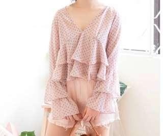 Layered Frilled Top
