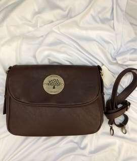 Mulberry Sling Bag Plain Brown