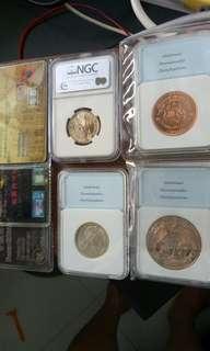 Coin 4枚一起卖$110