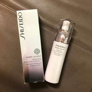 全新 Shiseido White Lucent Brightening Moisturising Emulsion 淨白保濕乳霜 (原價HK$468)