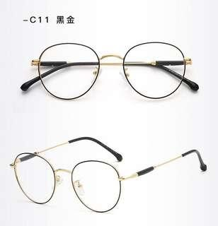 Unisex PC Lens Eye Protection Computer Glass Anti-Fatigue Eyewear Spectacle Frame Degree Prescription Available S11231