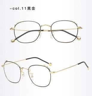 Unisex PC Lens Eye Protection Computer Glass Anti-Fatigue Eyewear Spectacle Frame Degree Prescription Available S1106