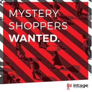 MYSTERY SHOPPER - UP TO $220