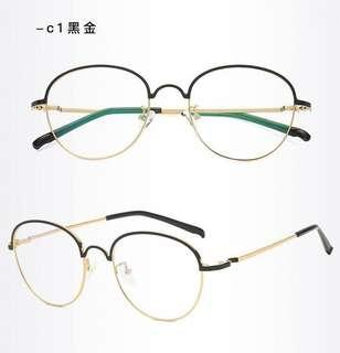 Unisex PC Lens Eye Protection Computer Glass Anti-Fatigue Eyewear Spectacle Frame Degree Prescription Available S18002