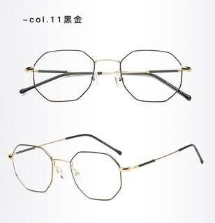 Unisex PC Lens Eye Protection Computer Glass Anti-Fatigue Eyewear Spectacle Frame Degree Prescription Available S7920