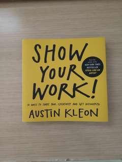英文書 show your work