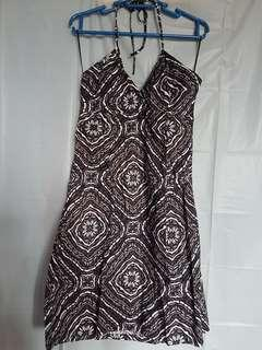 H&M printed halter sundress