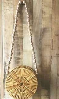 Bamboo summer bag Instock 1pc