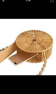 Instock 1pc summer bamboo bag