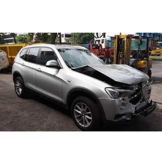 BMW F25 X3 2014 START STOP PUSH BUTTON FOR SALE (07353)