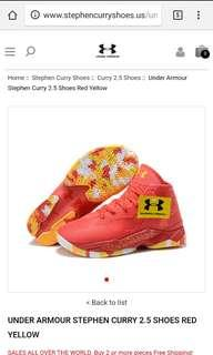 Under armour Stephen Curry 2.5
