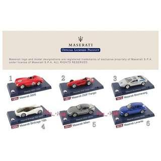 🚚 7-11 瑪莎拉蒂典藏模型車1:60、CITY CAFE集點活動(單售)