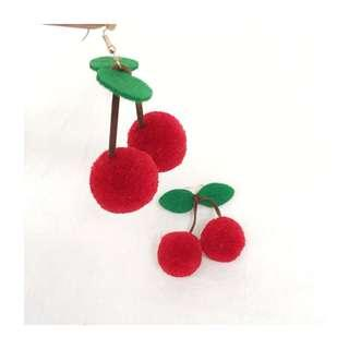 Cherry Earrings 🍒