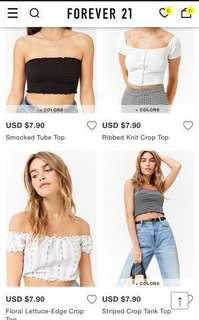 🔥 11.11 SALES ON FOREVER 21 *FREE SHIPPING*