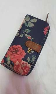 Cath kidston long floral wallet