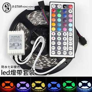 1634299 Led 七彩變色60燈條套裝 帶遙控 Colorful color changing suit