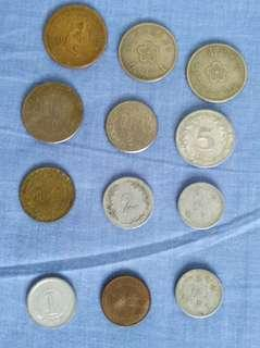 Taiwan old coins