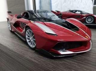 Bburago Race & Play Ferrari FXXK 1:18