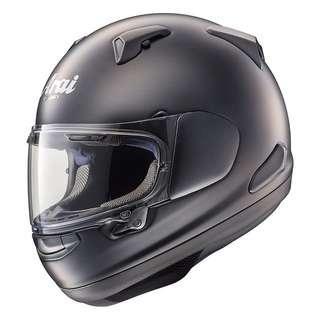 ARAI QUANTUM-X SIZE X-LARGE XL ONLY BLACK FROST Full Face Motorcycle Motorbike Helmet