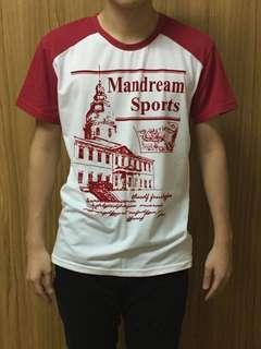 🚚 Mandream Sports 短袖T恤