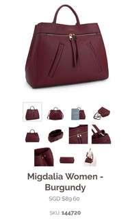 Mizzue Migsalia woman handbag (Black)