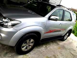 2007 Toyota Fortuner 2.7 V (A)