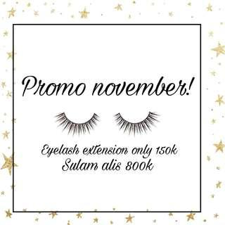 Sulam alis eyelash extension