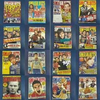 Smash Hits Magazines 1996 x 24 books