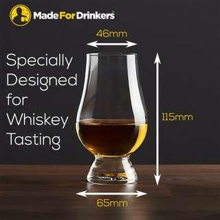 🚚 Whiskey Tasting/Nosing Glasses - 1 pair - Any breakage during delivery will be replaced by us