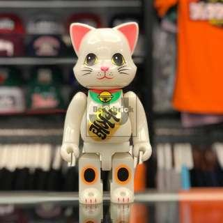 Bearbrick Lucky Cat 400% NYBRICK fortune Maneki Neko GID Grow In the Dark 夜光 招財貓 運氣 生日 新店 結緍 禮物