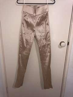 Meshki shiny gold pants